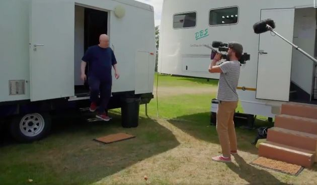 Matt Lucas took fans on a tour behind the scenes of Bake Off