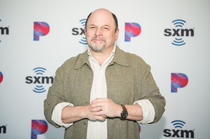 Jason Alexander visits the SiriusXM Hollywood Studio on March 3 in Los Angeles.