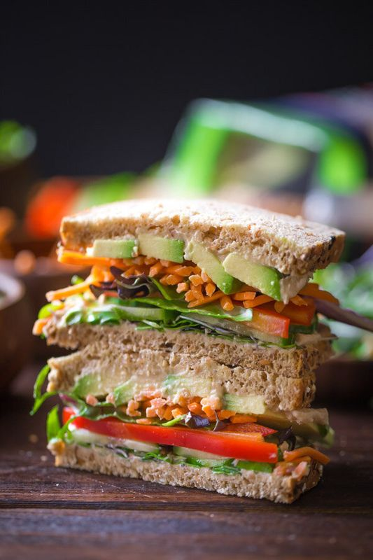 Vegan And Vegetarian Sandwich Recipes That Make Lunch Less Boring