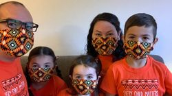 This Year, Face Masks Join Orange Shirts To Honour Residential School