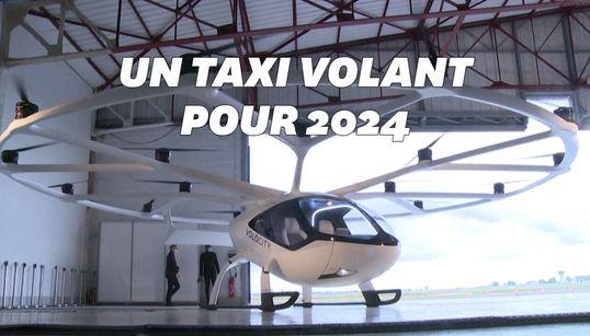 Ce taxi volant va être testé en Île-de-France à partir de juin