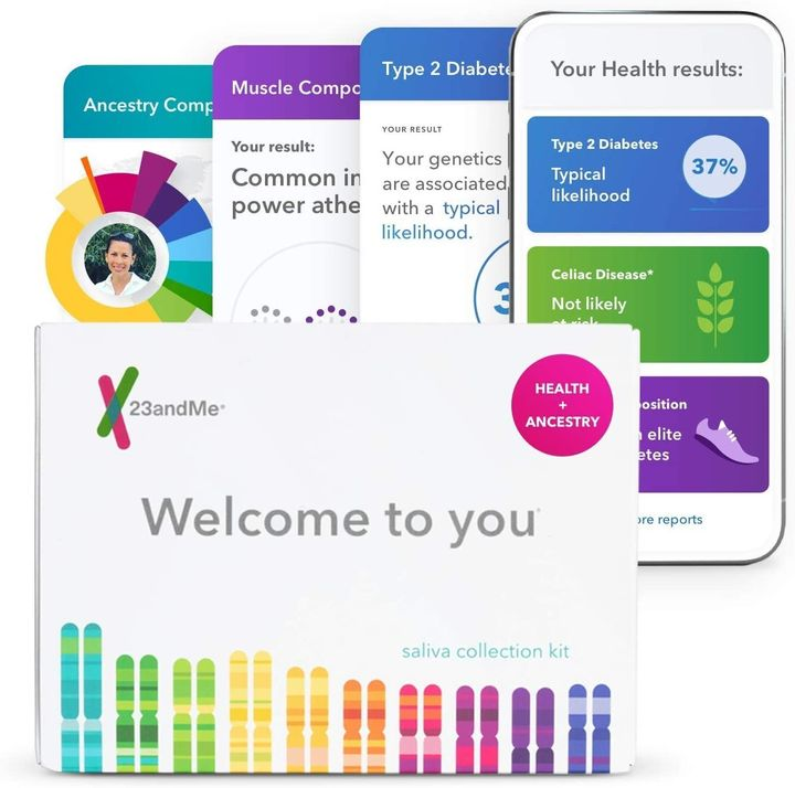 "Get the 23andMe DNA kit for <a href=""https://amzn.to/3iYn2no"" target=""_blank"" rel=""noopener noreferrer"">$100 on Amazon</a>&nbsp;this Prime Day."