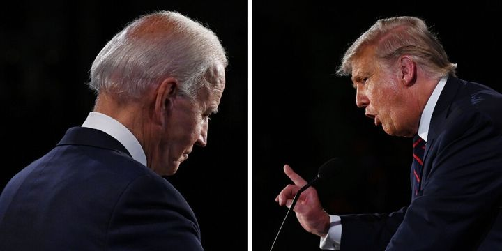 "Though Democratic presidential nominee Joe Biden had his outbursts (""Would you shut up, man?"" among them), for the most part, he stayed relatively calm when President Trump tried to get a rise out of him."