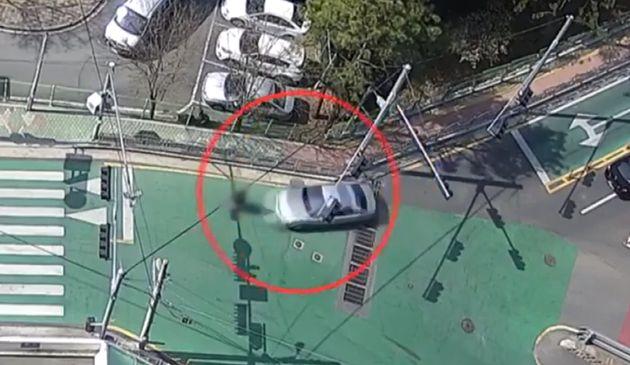 사고 당시 CCTV