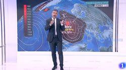 El hombre de 'El Tiempo' de TVE sorprende con esta explosiva comparación: