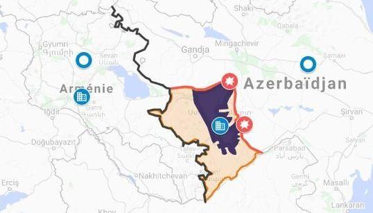 La guerre Arménie-Azerbaïdjan expliquée en une
