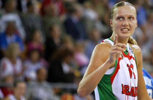In cella la star del basket Leuchanka: cercava di espatriare dalla