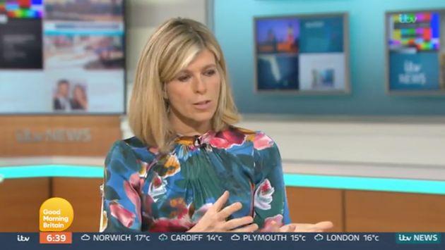 Kate Garraway on Good Morning