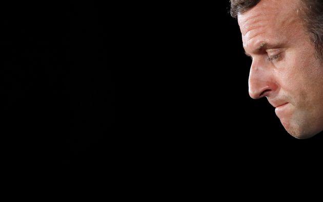 Emmanuel Macron, el pasado 1 de septiembre, durante una rueda de prensa en