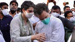 Yogi Govt Amps Up Intimidation: Hathras Locked Down, Rahul And Priyanka Gandhi