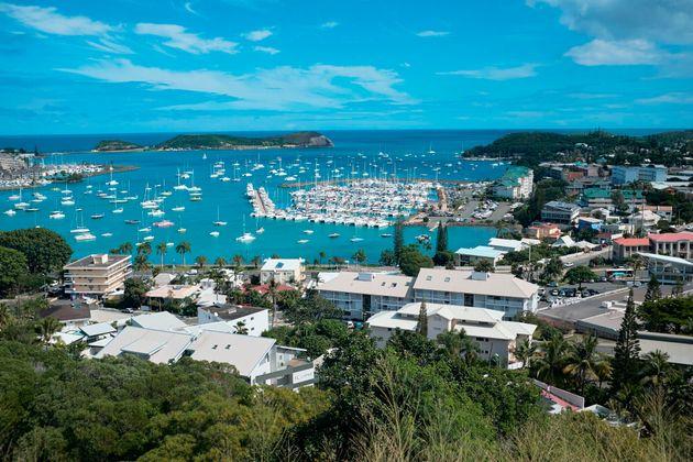 Une vue aérienne de Nouméa en Nouvelle-Calédonie. (photo