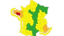 Vigilance rouge aux vents violents dans le Morbihan à cause de la tempête