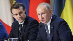 Macron, Trump et Poutine réclament d'une même voix un cessez-le-feu au