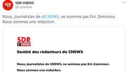 Les journalistes de CNews et du Figaro condamnent les propos de