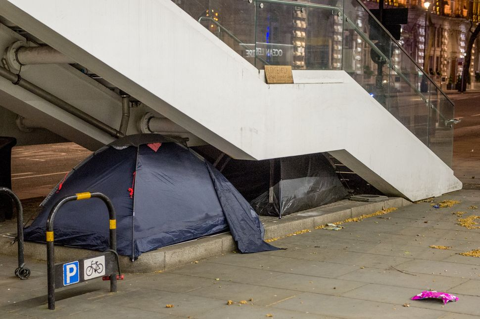 The number of people sleeping rough is expected to rise dramatically owing to the coronavirus pandemic.