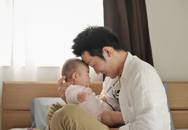 Father and Baby girl (6