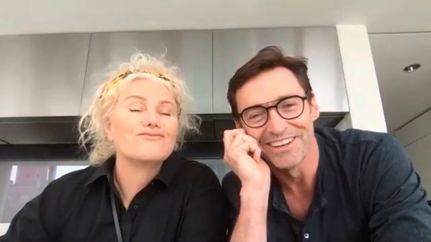 Refreshingly honest: Deborra-Lee Furness and Hugh