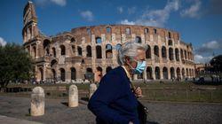 Mascherina obbligatoria all'aperto nel Lazio: ordinanza