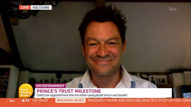 Dominic West Addresses Trump's Coronavirus Diagnosis: 'What Goes Around Comes Around'