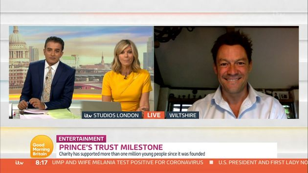 Adil Ray and Kate Garraway interview Dominic West