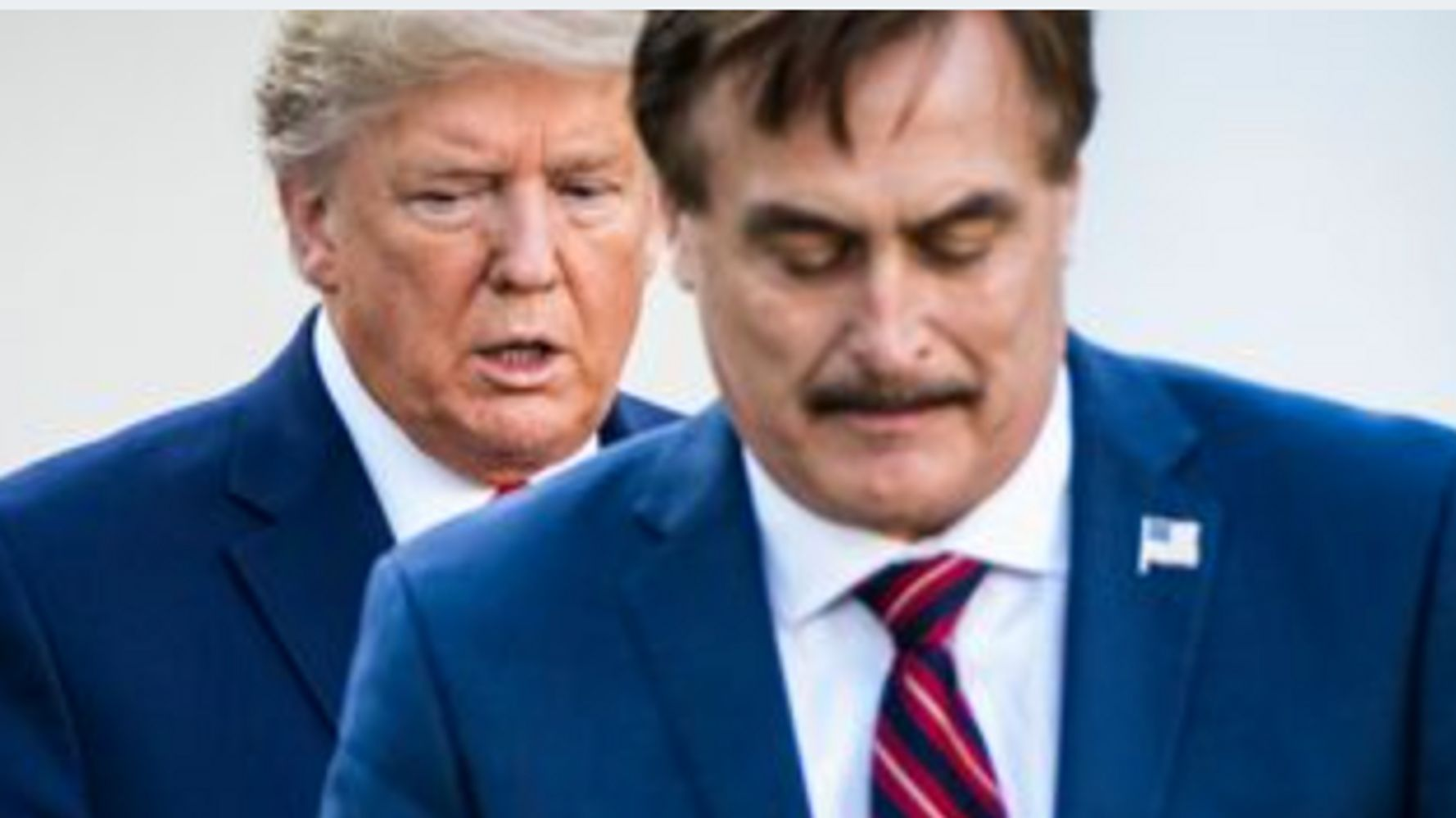 Mypillow Guy Mike Lindell Shouts Out Unproven Covid 19 Cure To Trump Huffpost
