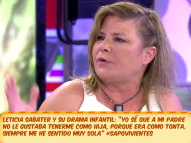 Silvia Sabater en una de sus intervenciones televisivas en