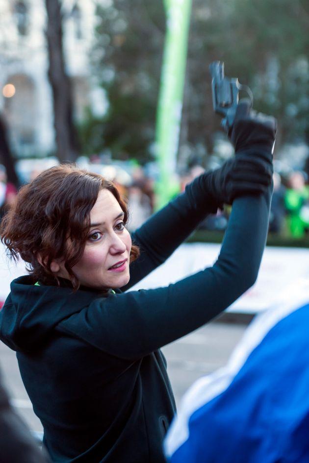 Isabel Díaz Ayuso, en una imagen de enero de