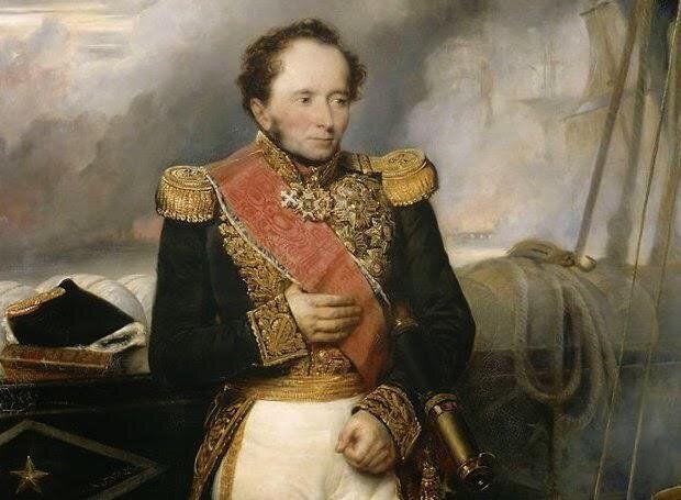 Ο Ναύαρχος Henri de Rigny, πίνακας...