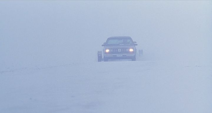 """The opening scene of """"Fargo"""" on Netflix."""