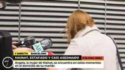 Caos total en la puerta de la casa de Josep María Mainat: