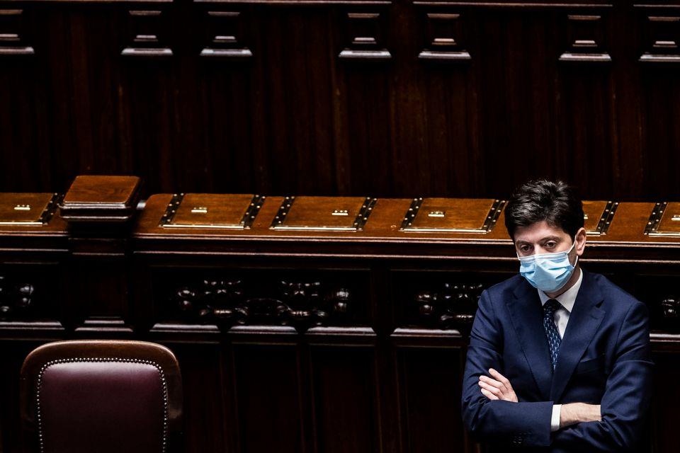 29/07/2020 Roma, Camera dei deputati. Comunicazioni del presidente del Consiglio sullo stato di emergenza...