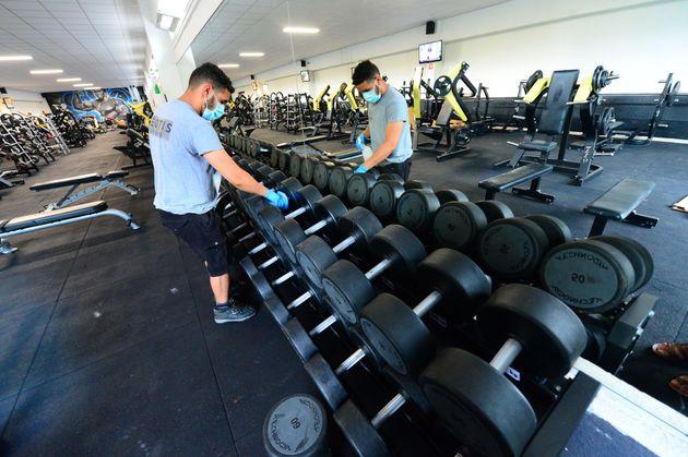 À Toulouse, les salles de sport sont finalement autorisées à rouvrir (Photo d'illustration...
