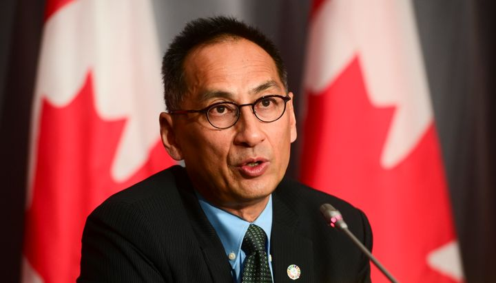 Dr. Howard Njoo, Deputy Chief Public Health Officer, holds a press conference during the COVID pandemic in Ottawa on Sept. 29, 2020.