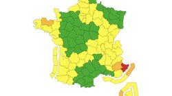 Tempête Alex: 4 départements en alerte, les Alpes-Maritimes en vigilance
