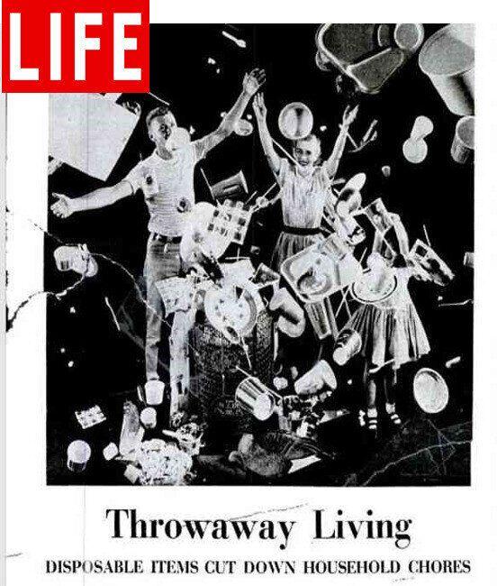 1955년 발간된 <라이프> 표지. 오하이오주립대 누리집 갈무리