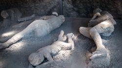 Scoperti neuroni umani in vittima dell'eruzione del Vesuvio del 79
