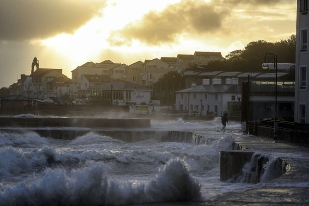 Severe Weather Warnings In Place As Heavy Rain Batters UK