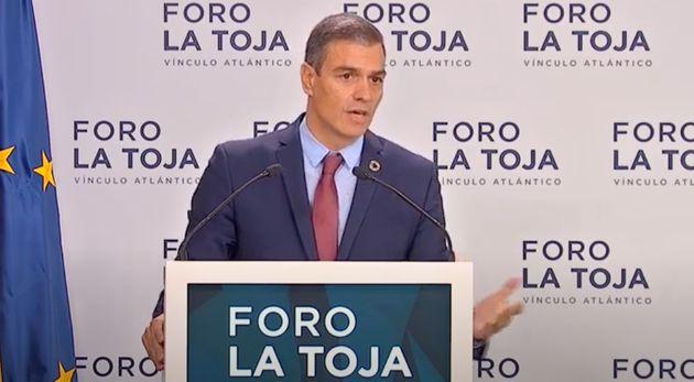 Pedro Sánchez, en el Foro La