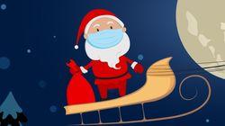 Le père Noël devant sa webcam ou à deux mètres dans les centres