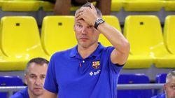 Jasikevicius, entrenador del Barça de baloncesto, positivo por