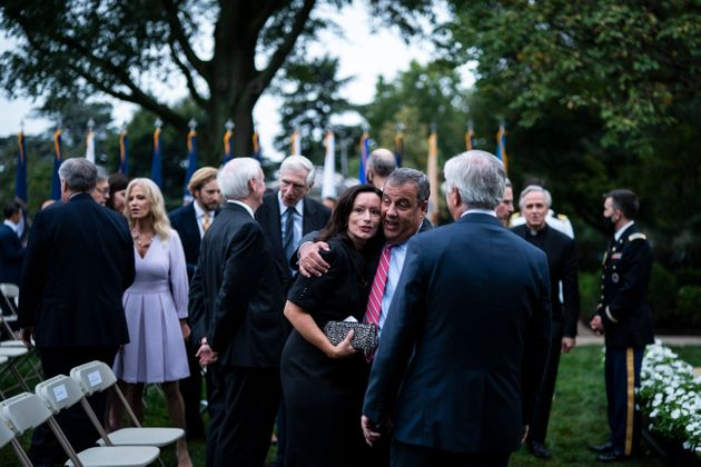 Former New Jersey Gov. Chris Christie tested positive for COVID-19 less than a week after attending a ceremony at the White House.