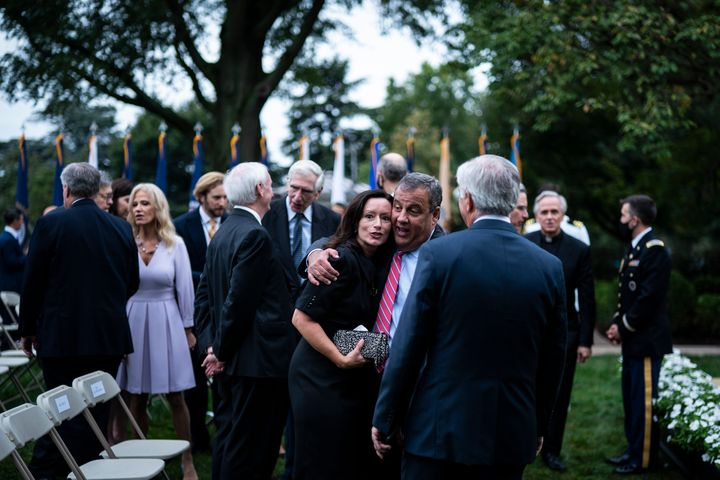 Former New Jersey Gov. Chris Christie tested positive for COVID-19 less than a week after attending a ceremony at the White H