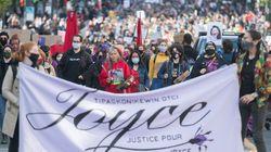 «Justice pour Joyce»: des milliers de manifestants marchent à