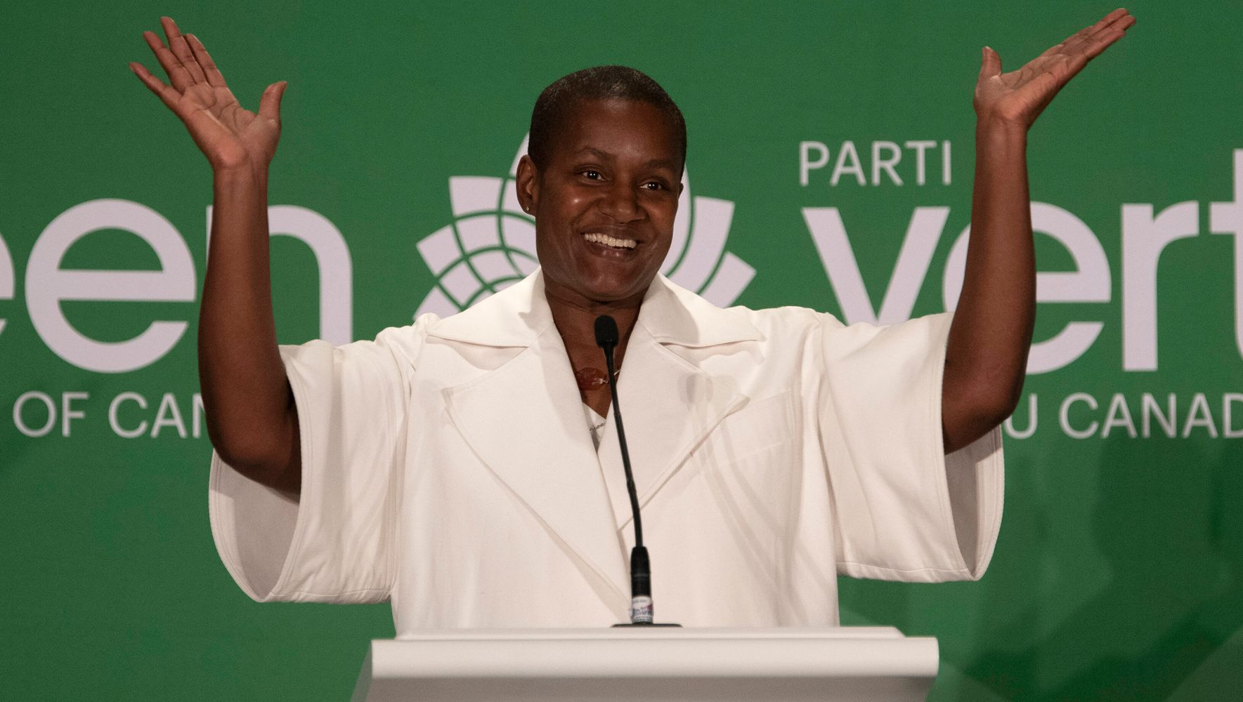 Annamie Paul Wins Race To Replace Elizabeth May As Green Party Leader
