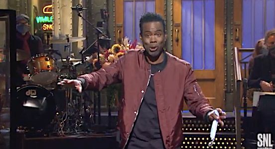 Chris Rock hosted Saturday Night