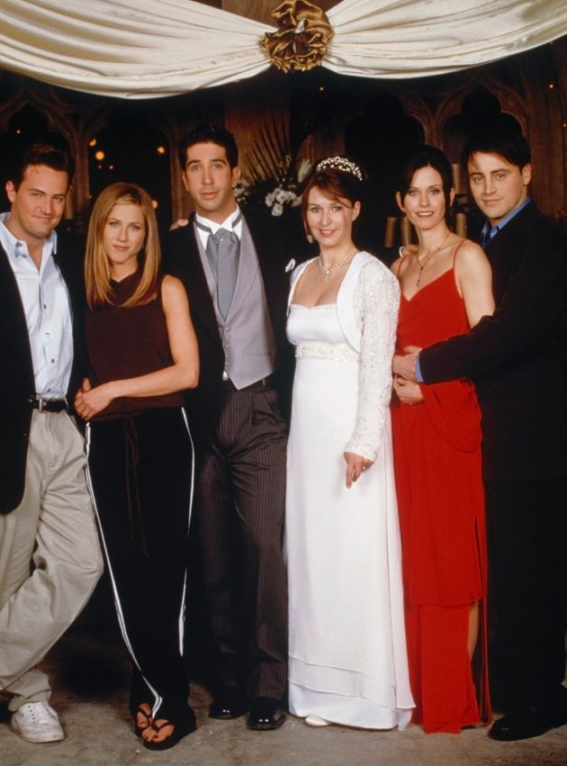 The Friends cast relocated to London to film Ross and Emily's wedding in 1998