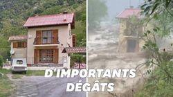 Ces images avant/après montrent l'ampleur des destructions dans les