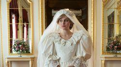 Emma Corrin dans la robe de mariée de Diana sur cette nouvelle image de