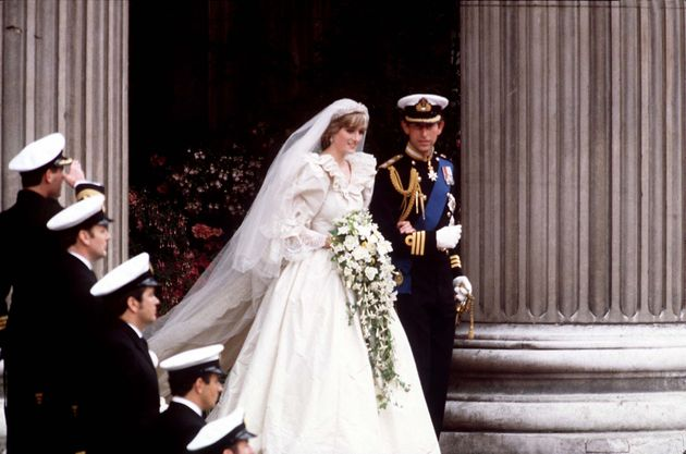 Princess Diana and Prince Charles married in July