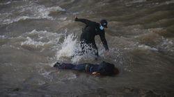 Detienen en Chile a un policía por lanzar a un joven de 16 años por un puente durante una
